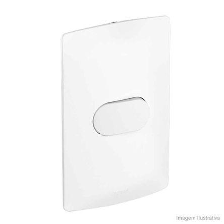 Interruptor 4x2 Simples 10A Branco Nereya Pial