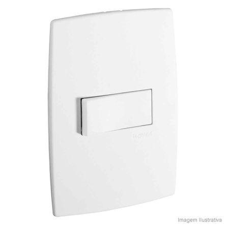 Interruptor 4x2 Simples Horizontal Pialplus Pial