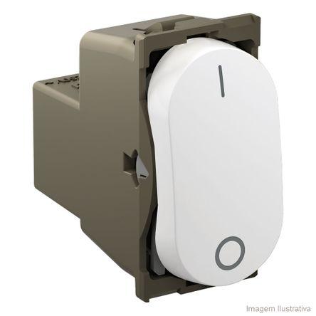 Interruptor Bipolar Simples 25A 250V 1 Módulo Branco Nereya Pial