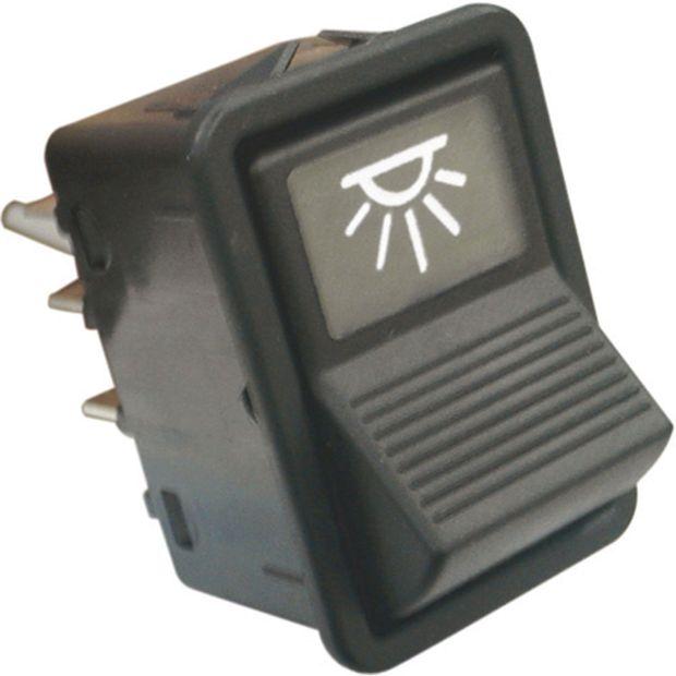 Interruptor da Iluminacao Interno 24v - Un90445 Caminhões /ônibus