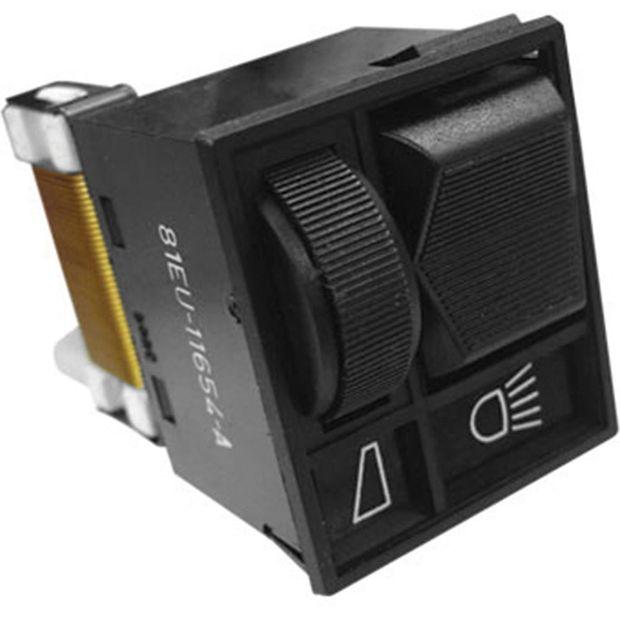 Interruptor de Luz com Reostato - Un90437 Del Rey