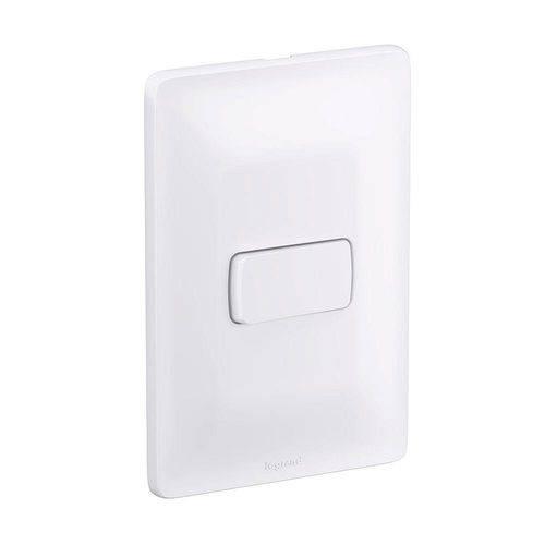 Interruptor Simples 10a 250v 4x2 Zeffia - 680100 - Pial