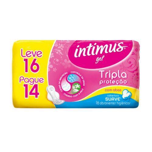 Intimus Absorventes Íntimos Gel Suave C/a C/16