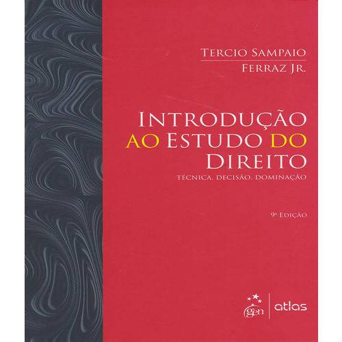 Introducao ao Estudo do Direito - 09 Ed