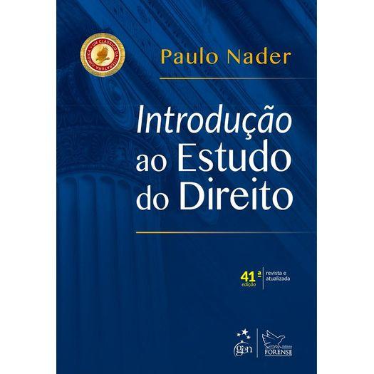 Introducao ao Estudo do Direito - Nader - Forense