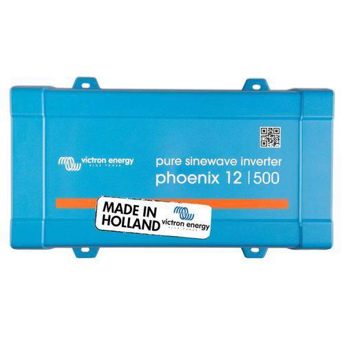 Inversor Solar Off Grid Victron Aldo Solar Pin125010500 Phoenix 500va E12v S120v Onda Senoidal Pura