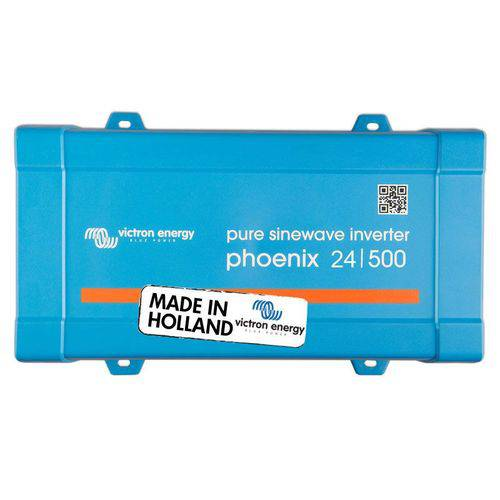 Inversor Solar Off Grid Victron Aldo Solar Pin245010200 Phoenix 500va E24v S230v Onda Senoidal Pura