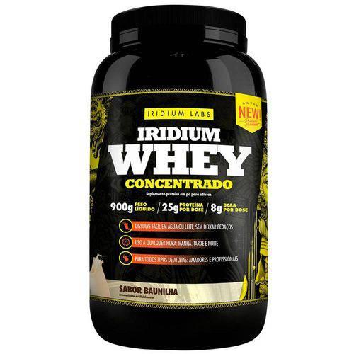 Iridium Whey Concentrado - 900g - Iridium Labs - Baunilha