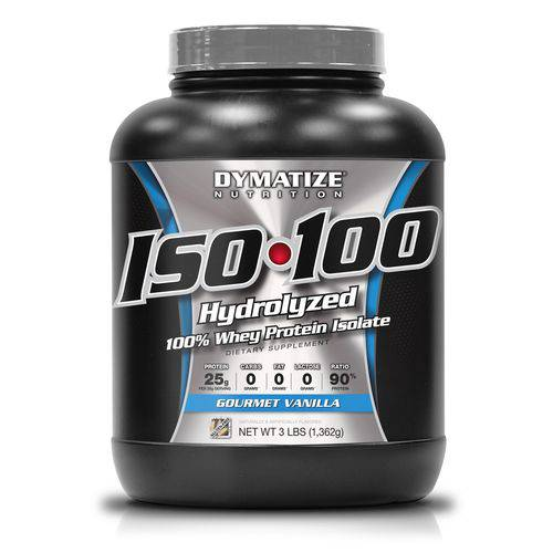 Iso 100 Whey Protein 1362g - Dymatize