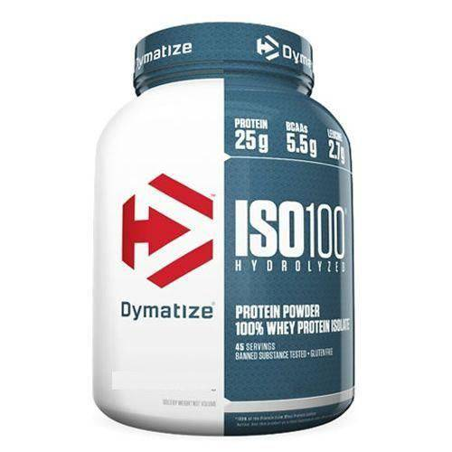 Iso 100 Whey Protein Isolado - 1400g Fudge Brownie - Dymatize Nutrition