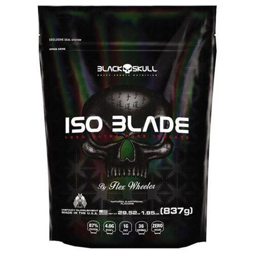 Iso Blade 837KG - Black Skull - Morango