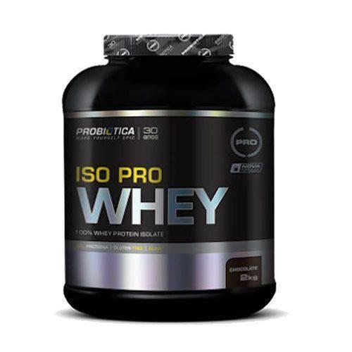 Iso Pro Whey - 2000g Chocolate - Probiotica