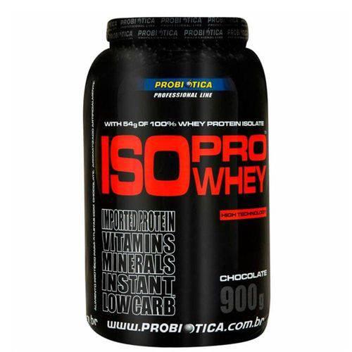 Iso Pro Whey - 900g Morango - Probiótica