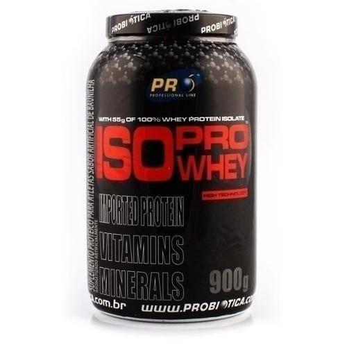 Iso Pro Whey Morango 900g Probiotica