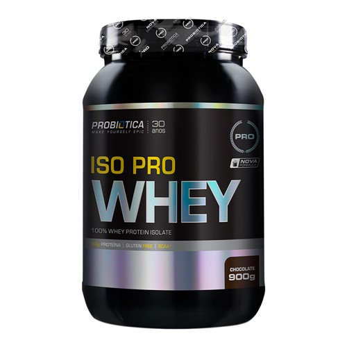 Iso Pro Whey Probiótica Chocolate 900g