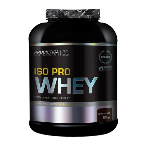 Iso Pro Whey Probiótica Chocolate 2Kg