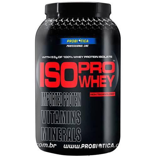 ISO Pro Whey - Suplemento Alimentar Cookies 900g - Probiótica