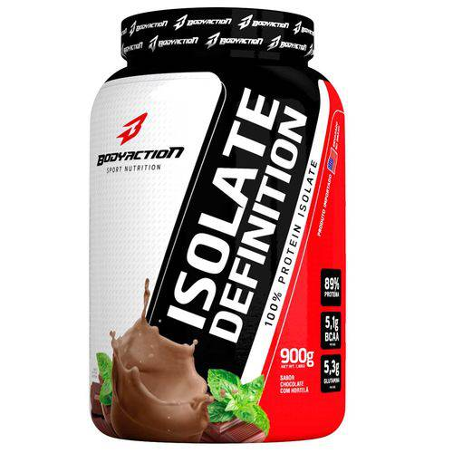 Isolate Definition 900g Chocolate com Hotelã Bodyaction