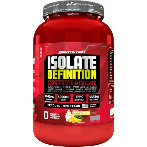 Isolate Definition 900g Frutas