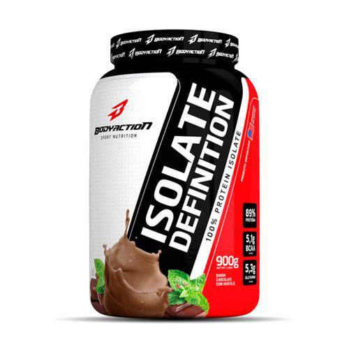 Isolate Definition - Body Action - Chocolate com Hortelã - 900g