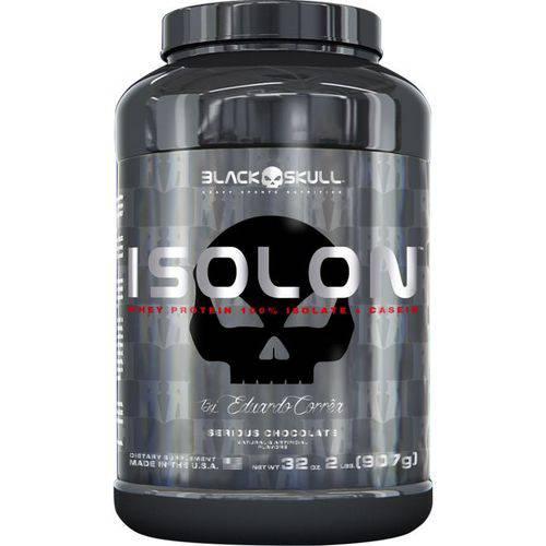 Isolon 907g - Black Skull By Eduardo Corrêa - Baunilha
