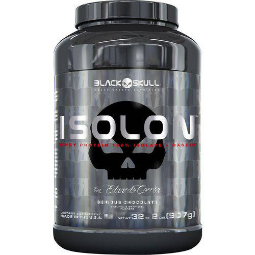 Isolon Chocolate 907g - Black Skull