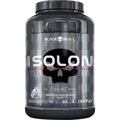 ISOLON WHEY PROTEIN 100% ISOLATE + CASEIN MICELLAR (PT) (2LBS / 907G) By Eduardo Corrêa - BLACK SKUL
