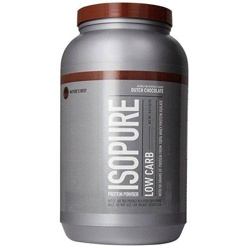 Isopure Low Carb - 1360g Chocolate Flavor - Nature's Best