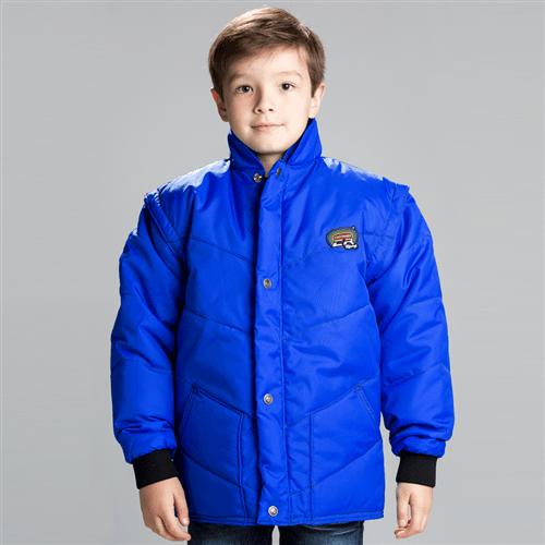 Jaqueta California Infantil Azul/royal M