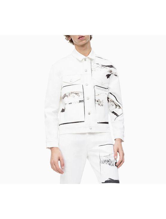 Jaqueta Color Ckj Masc Andy Warhol - Branco - M