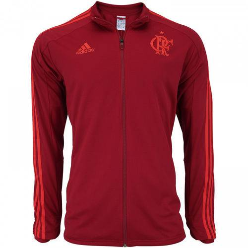Jaqueta Flamengo Adidas Treino Vermelha 2018 - CF2526
