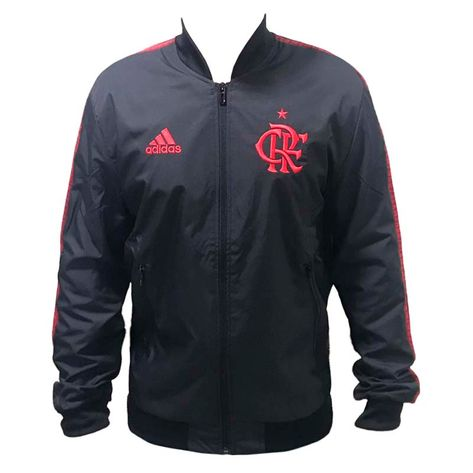 Jaqueta Flamengo Hino Rubro Adidas 2019 G