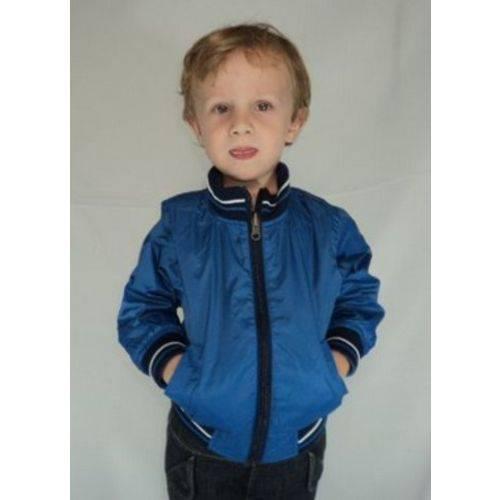 Jaqueta Infantil Masculina Azul Marinho Dupla Face