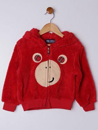 Jaqueta Infantil para Menino Vermelho