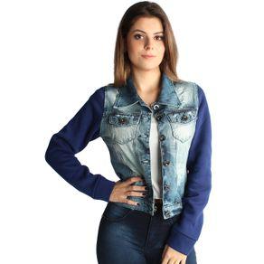 Jaqueta Jeans Edex Denim Street P