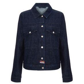 Jaqueta Jeans Kenzo Azul/p