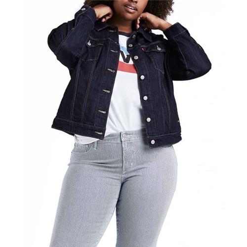 Jaqueta Jeans Levis Trucker Original Plus Size - 1X