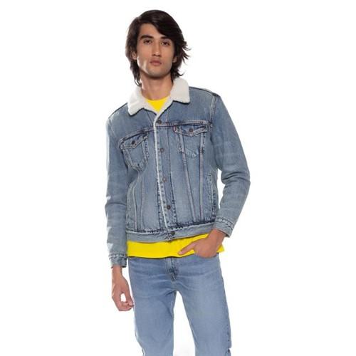 Jaqueta Jeans Levis Type 3 Sherpa - L