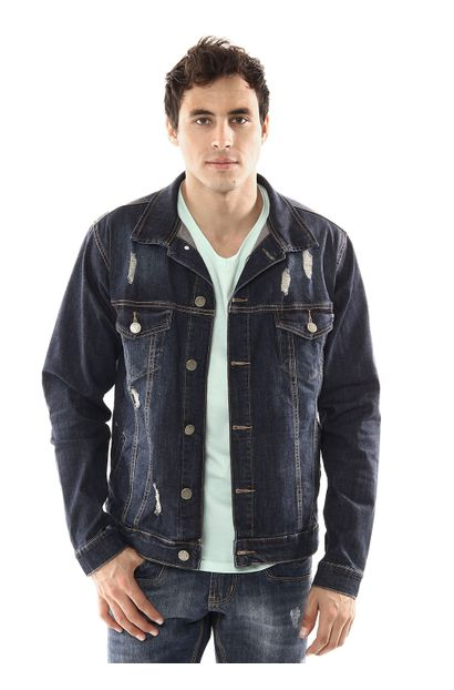 Jaqueta Jeans Masculina - 254148 P