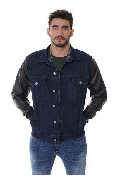 Jaqueta Jeans Masculina - 252502 P