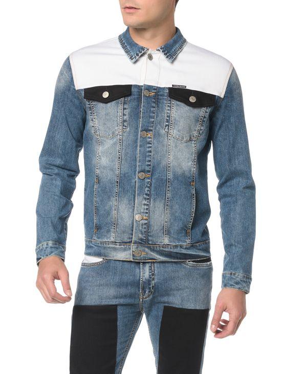 Jaqueta Jeans Trucker - M