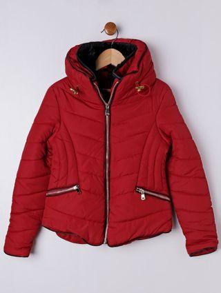 Jaqueta Juvenil para Menina - Vermelho