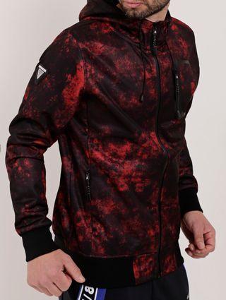 Jaqueta Masculina Gangster Vermelho/preto