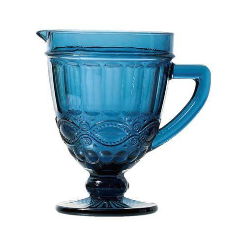 Jarra Libelula de Vidro Sodo-cálcico Azul 1l 11,4x14x20,2cm