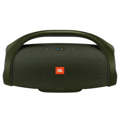 JBL Boombox Verde - Caixa de Som Bluetooth Portátil à Prova D'Água - 2x30w RMS - Original