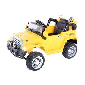 Jipe Elétrico Trilha Amarelo com Controle Remoto 12V Bel Fix