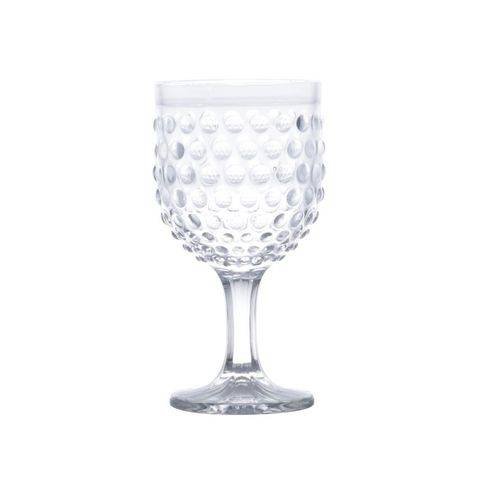 Jogo 6 TaÇAs em Vidro para ÁGua Bubble Transparente 360ML - Lyor