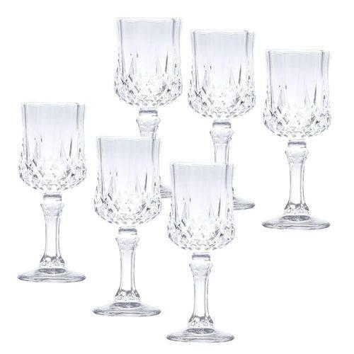 Jogo 6 TaÇAs para Licor Diamante Transparente 60ML - Lyor