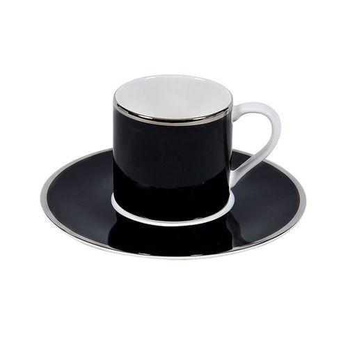 Jogo 6 Xícaras Chá Nimbus Black -