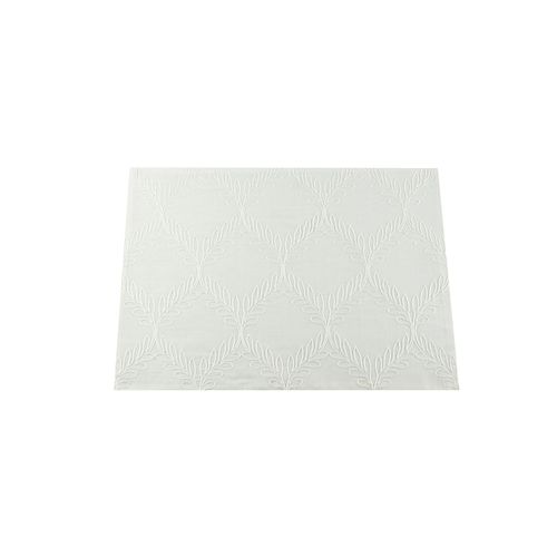 Jogo Americano Branco Romana 35x50cm - Auguri Casa
